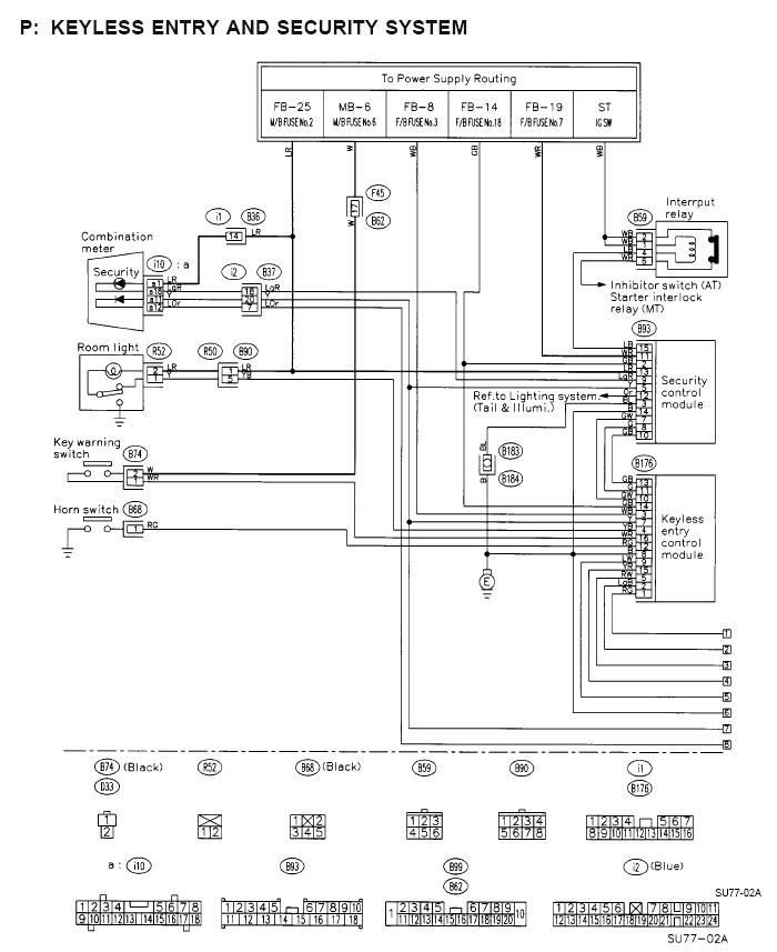 Subaru Forester 2006 Keyless Entry Wiring Diagram 98 Schematic At Motamad: Subaru Forester 2006 Wiring Schematic At Motamad.org