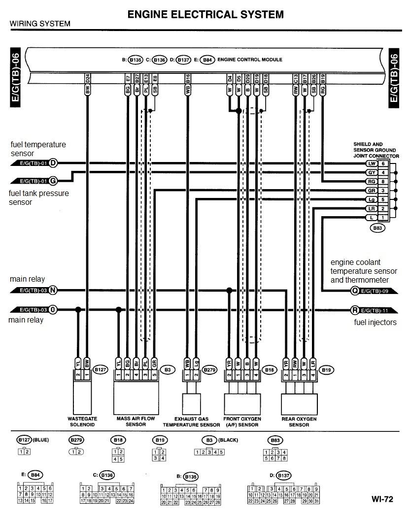 U0026 39 01- U0026 39 02  O2 Sensor Electrical - 2002 Subaru Impreza Wrx