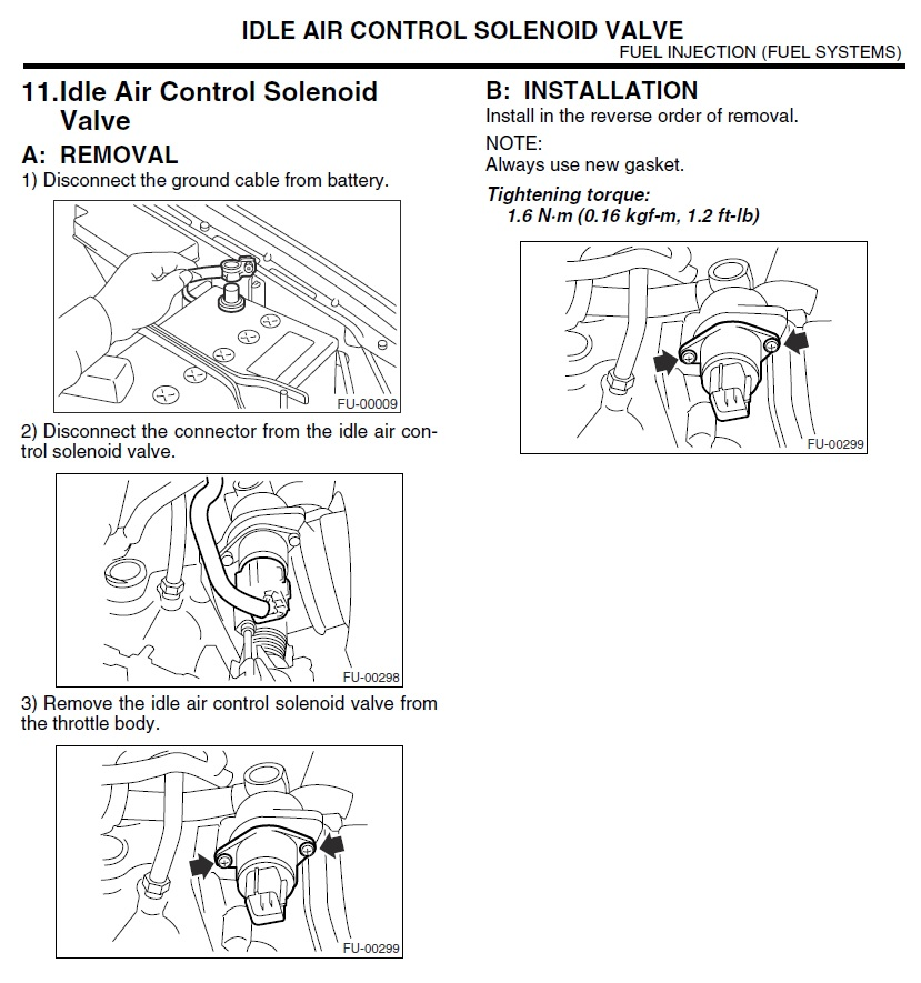 03-'05) - Idle Air Control Valve Installation - Updated! | Subaru Forester  Owners Forum | Wrx Iacv Wiring Diagram |  | Subaru Forester Owners Forum