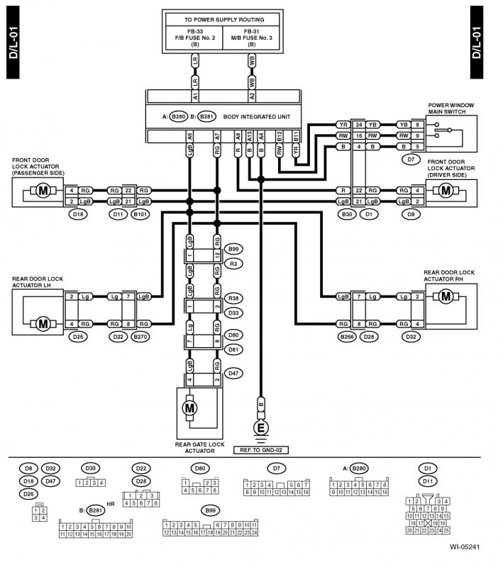 [SCHEMATICS_4CA]  All Years) - Door lock and window control wiring question? (merged thread)  | Page 2 | Subaru Forester Owners Forum | 2015 Subaru Legacy Power Window Wiring Diagram |  | Subaru Forester Owners Forum