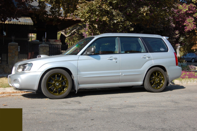 Which color should I paint the RKs? - Subaru Forester Owners Forum