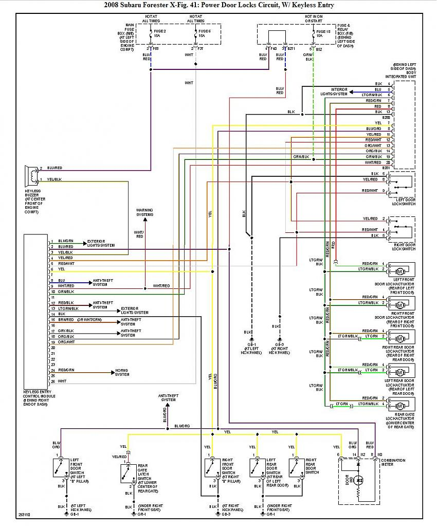 2010 subaru forester wiring schematic all wiring diagram2010 forester wiring  diagram wiring diagram b7 subaru outback