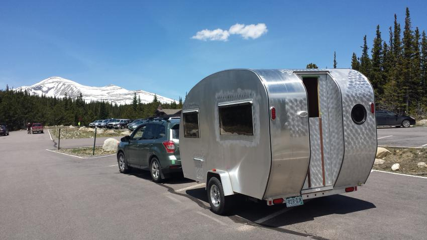 Maiden Voyage Tow Report 2900lb Trailer 1100 Miles With Mountain