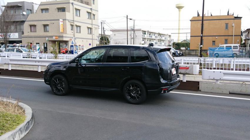2019 Subaru Forester Spy Shots - Subaru Forester Owners Forum