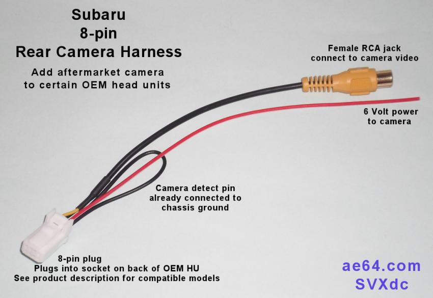 283825d1444751725 adding back up camera 2016 forester 8 pin_rev_camera_6v adding back up camera to 2016 forester subaru forester owners forum,Subaru Forester Rear View Camera Wiring Diagram