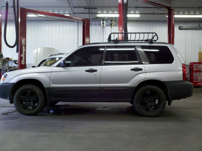 """Subaru Outback Vs Forester >> ('03-'05) 1"""" Subtle Lift to 2004 Forester X - Subaru Forester Owners Forum"""