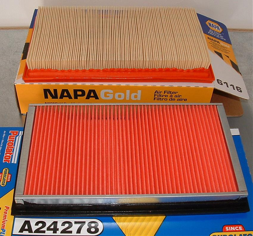 NAPA Gold vs. Purolator Air Filter - Opinions Please-air-filters.jpg
