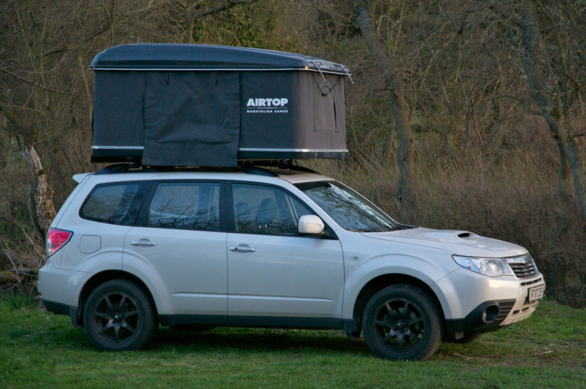 ... Click image for larger version Name Airtop 2.jpg Views 45706 Size ... & Maggiolina rooftent on 2010 - Subaru Forester Owners Forum