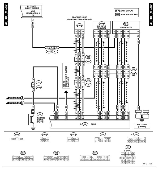 Center Console Aux in and USB In Wiring Diagram | Subaru Forester Owners  ForumSubaru Forester Owners Forum