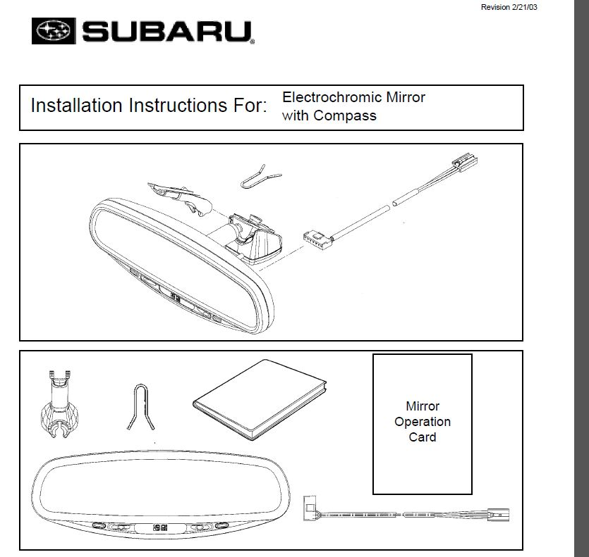 120913d1390039427 i want auto dimming mirror camlock i want an auto dimming mirror subaru forester owners forum  at n-0.co