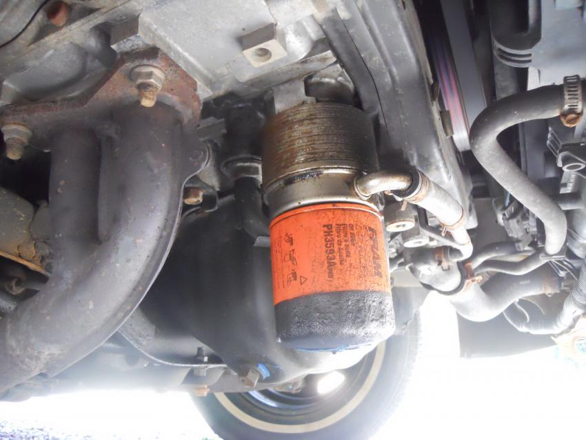 98-\'00) forester leaking oil near oil filter? (pics!) - Subaru ...