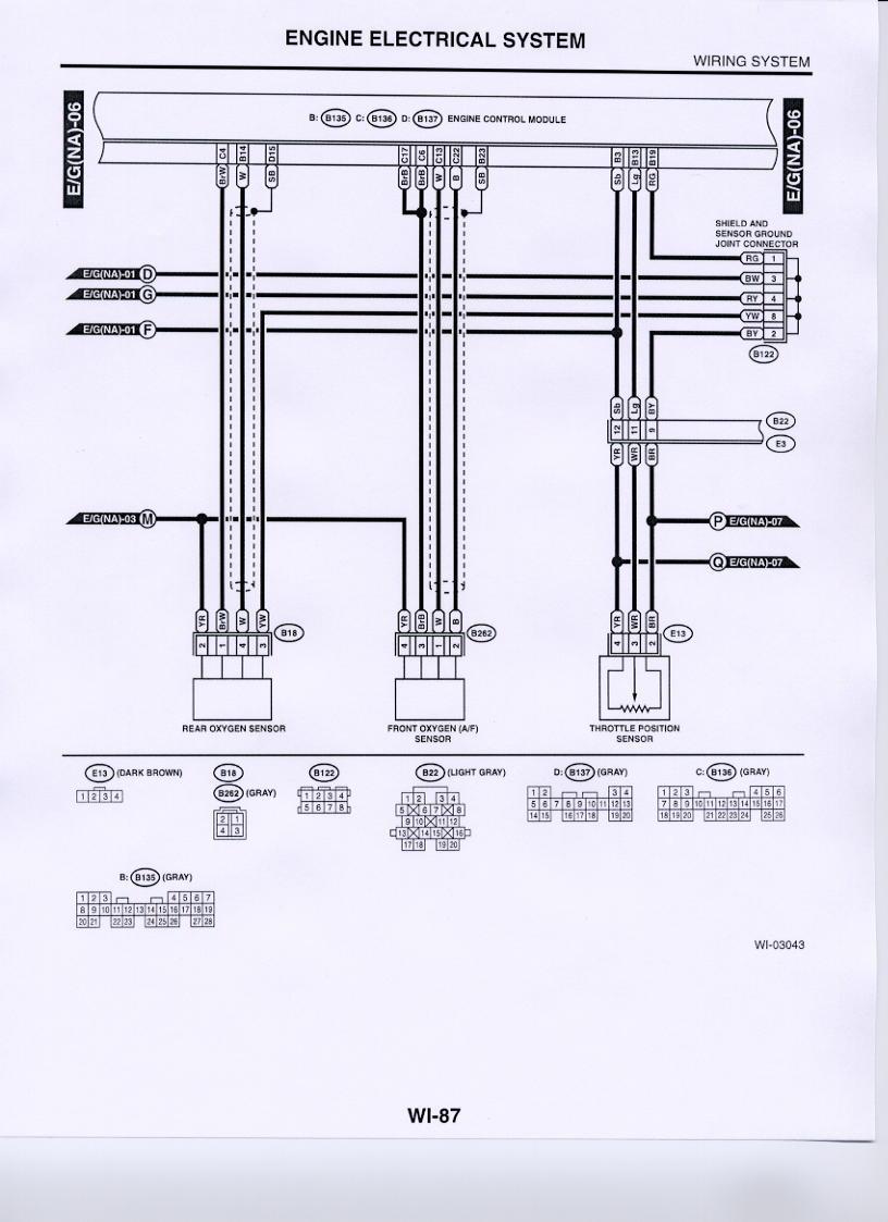 oxygen sensor wiring subaru forester owners forum 2002 Subaru Engine Diagram at O2 Sensor Wiring Diagram Subaru