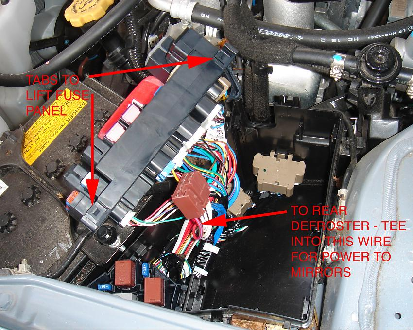 09 Forester heated mirror upgrade - Subaru Forester Owners Forum