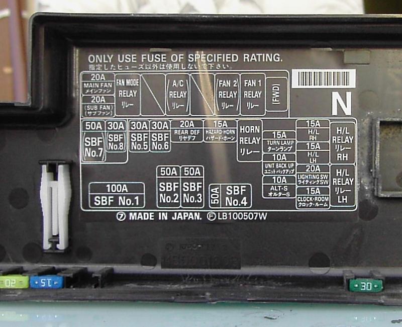 subaru forester fuse box which fuse will reset engine ecu subaru forester owners forum subaru forester fuse box which fuse will reset engine ecu
