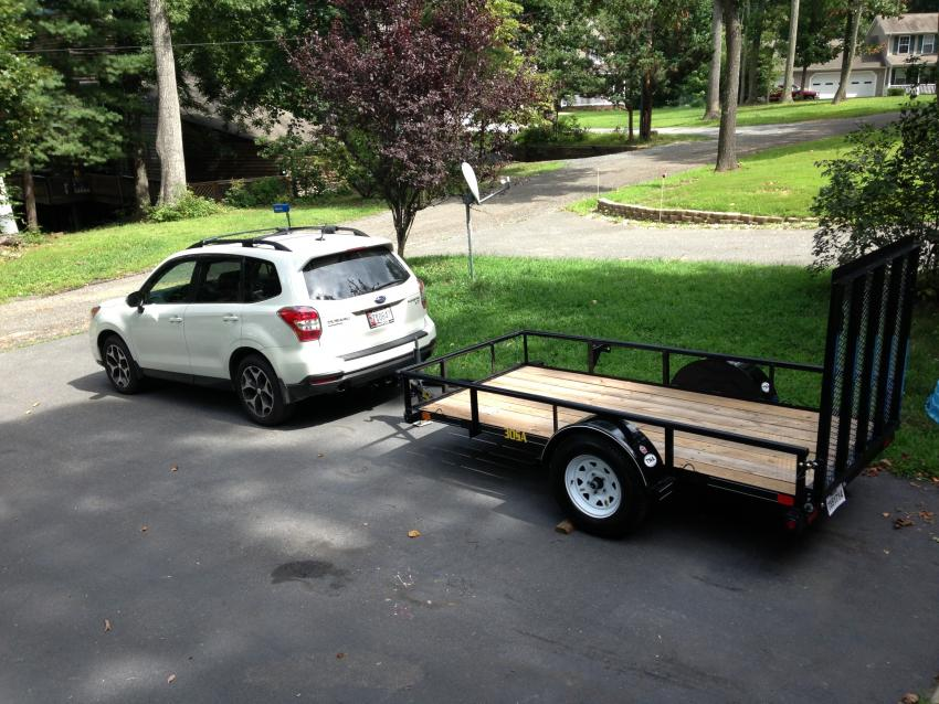 14 18 Towing With A 2014 Forester Subaru Forester