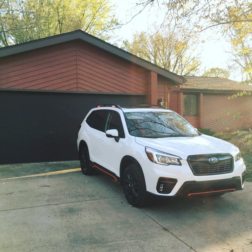 2019 Subaru Forester Transmission: New Owner: 2019 Ice Silver Forester Sport