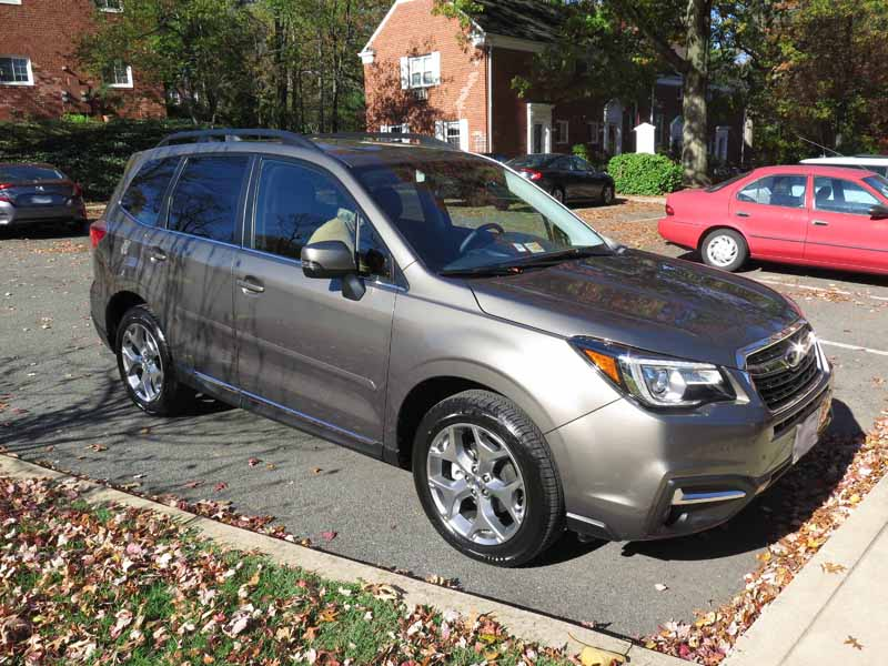 Got My New 2017 Forester Touring Sepia/Saddle - Subaru Forester Owners ...