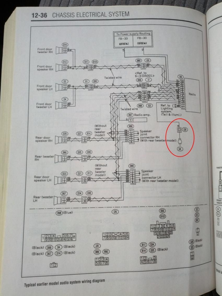 03 \u002705) clock backlight, radio circuit goes off subaru radio wiring diagram boost gauge install help please