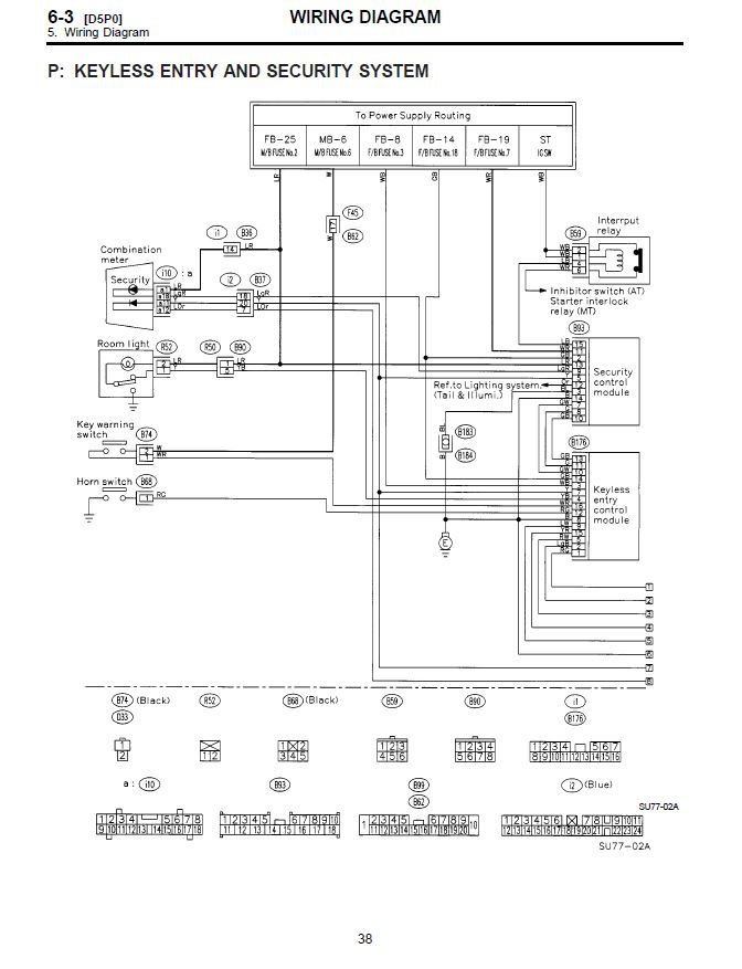 Remote Central Locking Fun Page 2 Subaru Forester Owners Forum: Subaru Keyless Entry Wiring Diagram At Imakadima.org