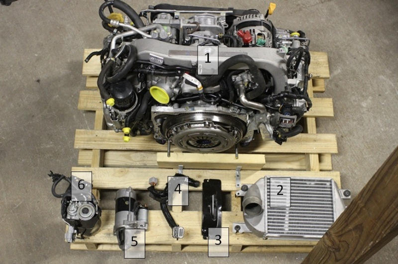 Subaru Diesel Engine for Sale
