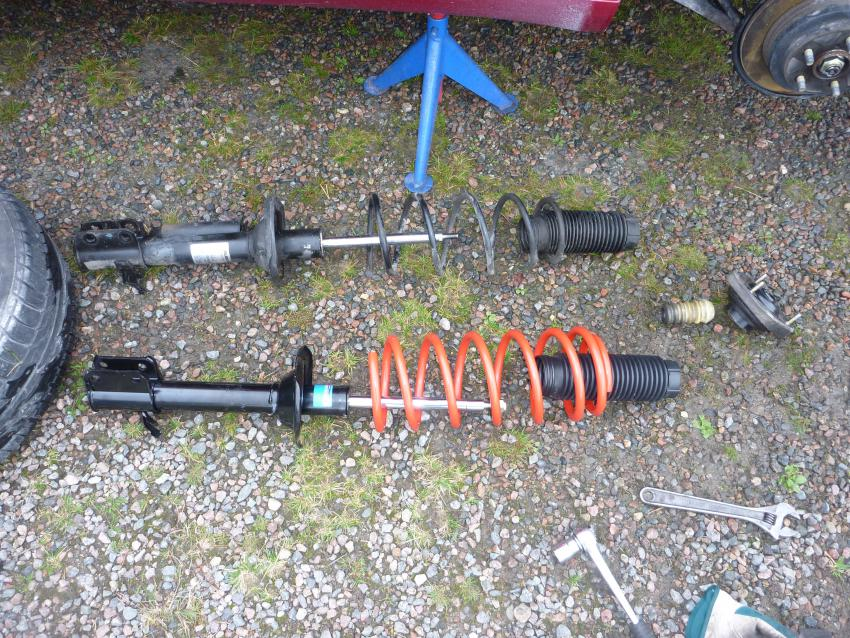 Replace My 2006 Forester Self Leveling Sls Struts And Springs With Non Strut