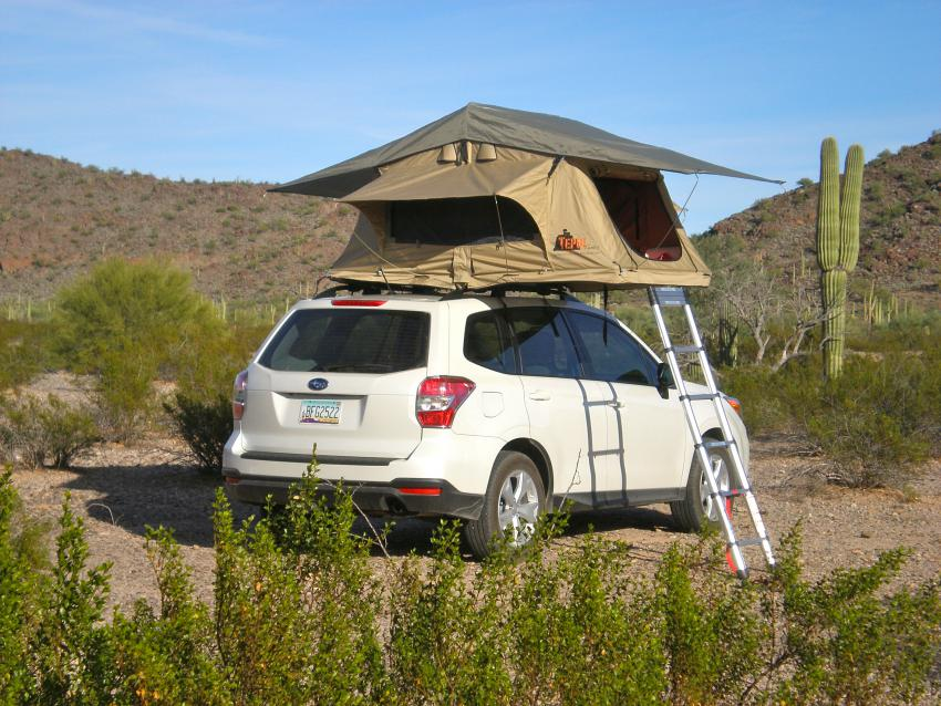 ... Click image for larger version Name PC140517.jpg Views 15218 Size 109.5 & All Years) AutoHome Roof Top Tent - Page 2 - Subaru Forester ...