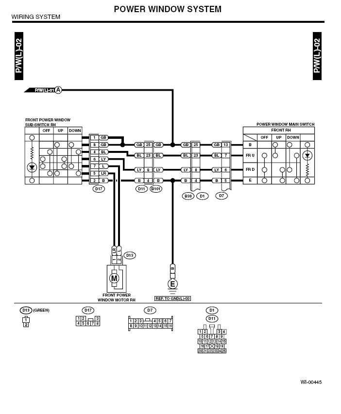 7769d1188199861 door lock window control wiring question merged thread pwr window 2 03 '05) door lock and window control wiring question (merged 2010 Subaru Forester Engine Diagram at nearapp.co