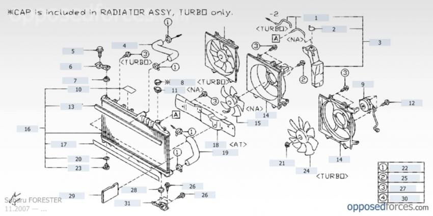 09 13 where is the radiator drain plug subaru forester owners click image for larger version radiator1 jpg views 12128 size 49 5