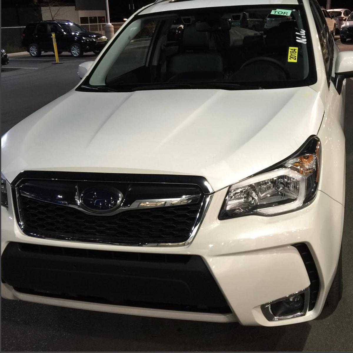2015 Subaru Forester Transmission: New To Subaru, 2016 Forester Ltd Crystal Pearl White