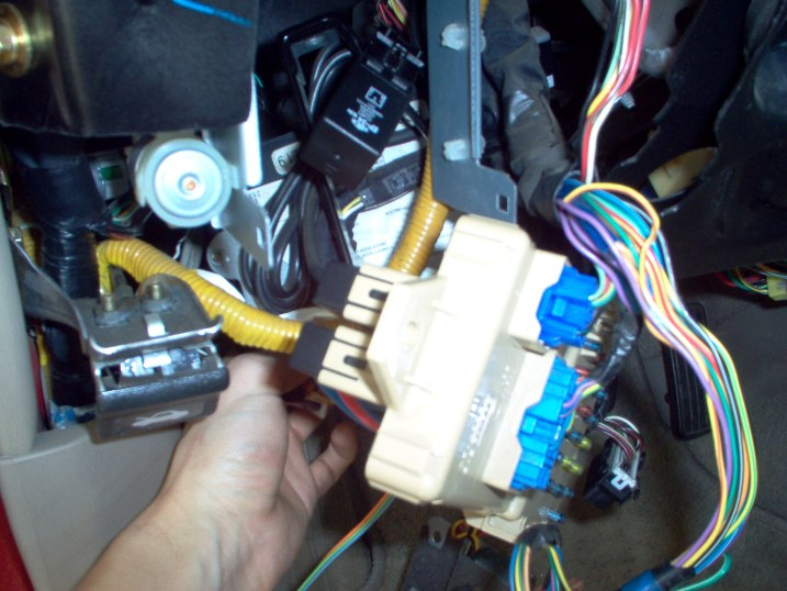 2004 Ford Ranger Flasher Relay Location