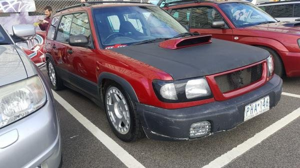 98 STi swapped SF5 | Subaru Forester Owners Forum