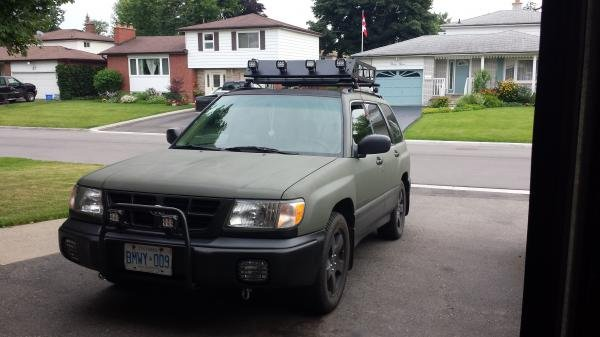 Showcase cover image for Atlas86's 2000 Subaru Forester