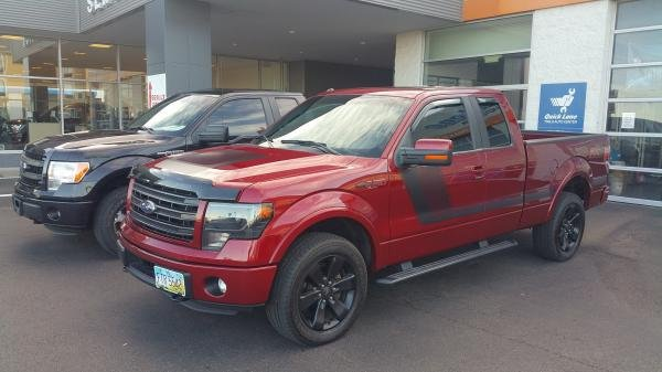 Showcase cover image for F150 w/appearance package
