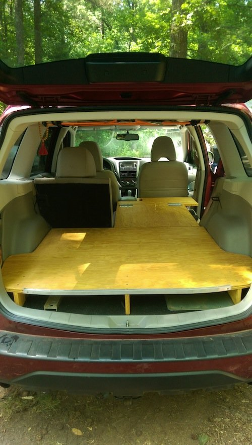 09-'13) - Rear Sleeping Platform | Subaru Forester Owners Forum