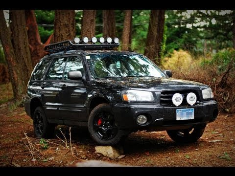 Subaru Forester Off Road >> Light Bar Offroad Lights For An 03 Subaru Forester Owners
