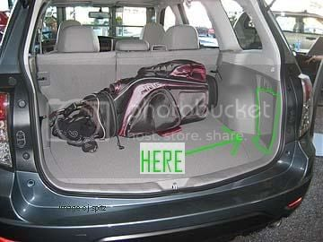 Subaru Forester Cargo Space >> Cargo Space Where S The Kit Subaru Forester Owners Forum
