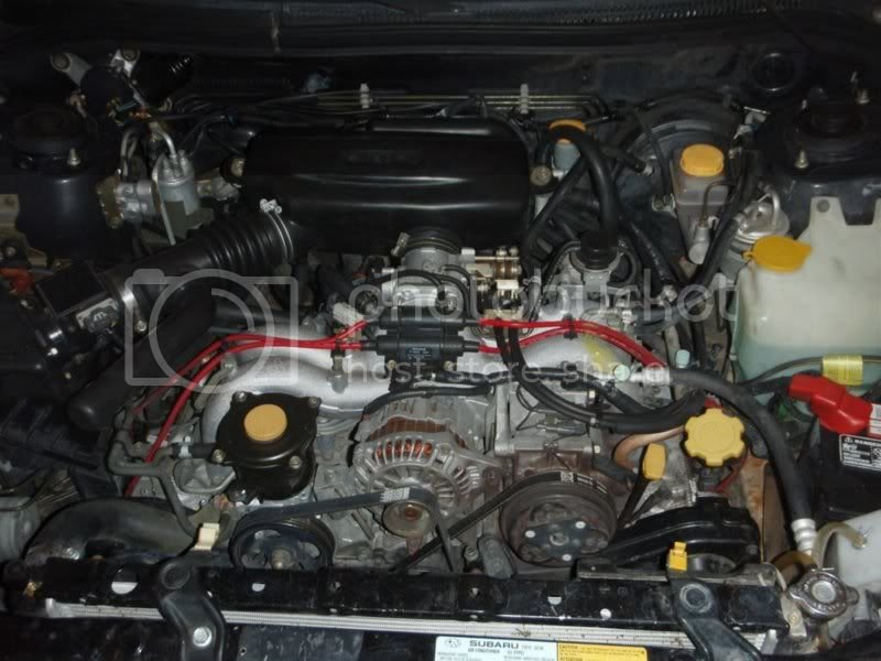 98-'00) - How to replace EJ25 head gaskets without removing