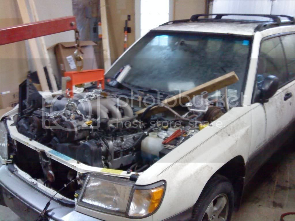 H6 swap into a 98 Forester | Subaru Forester Owners Forum