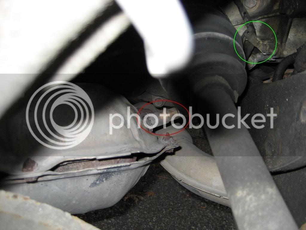 01-'02) - O2 Sensor replaced Pics inside!!! | Subaru