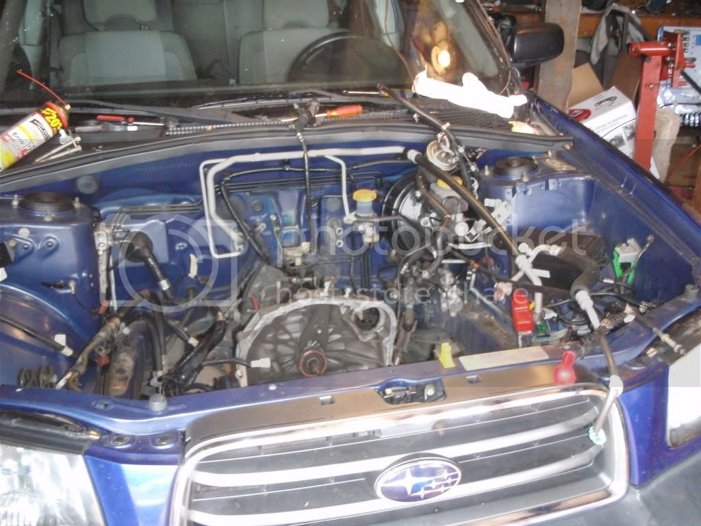 Forester X -> XT EJ255 swap   Subaru Forester Owners Forum
