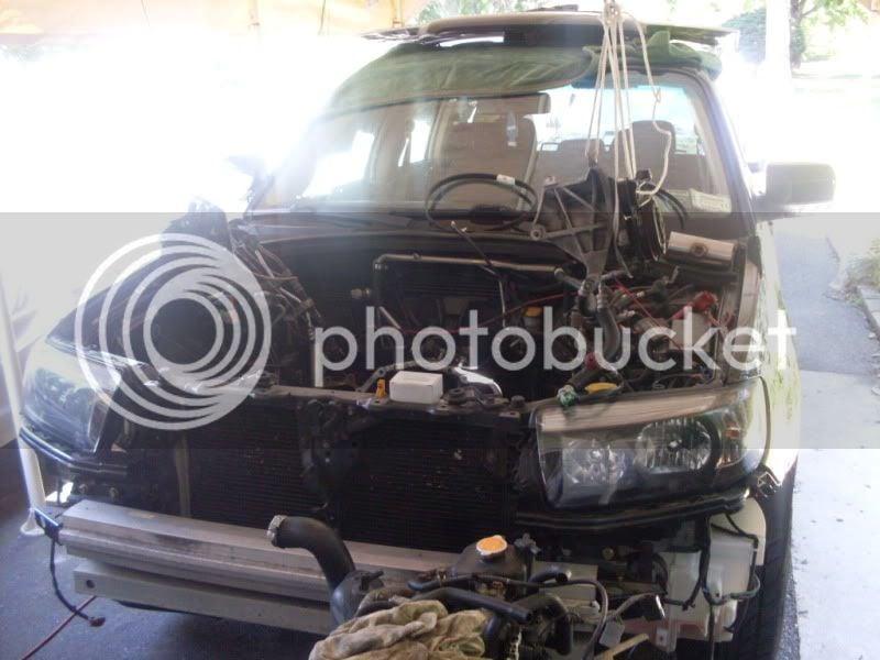 ej257 engine swap progress, 06 fxt   Subaru Forester Owners