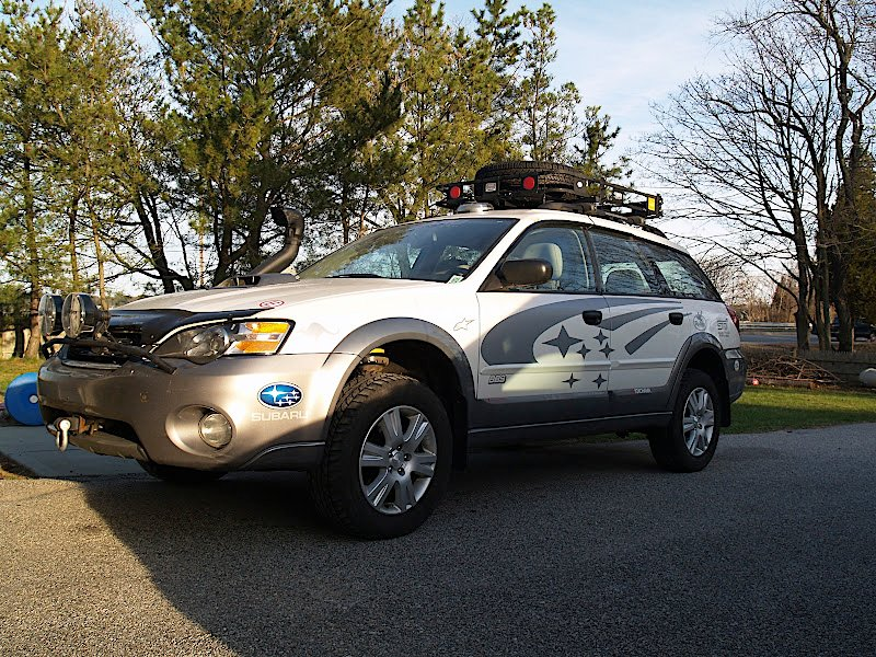 Lift kit installed on my Outback! | Subaru Forester Owners Forum