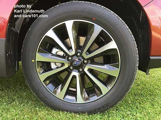 Subaru Forester 2017 Tires