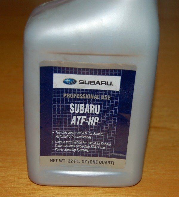 Have I Been Using The Wrong ATF Fluid? | Subaru Forester Owners Forum