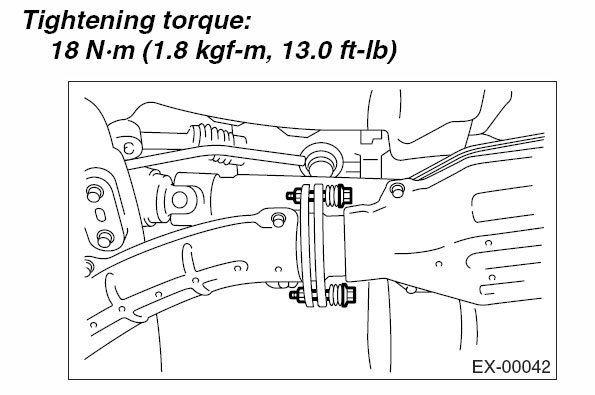 Anyone have torque spec for these two exhaust flange bolts? | Subaru
