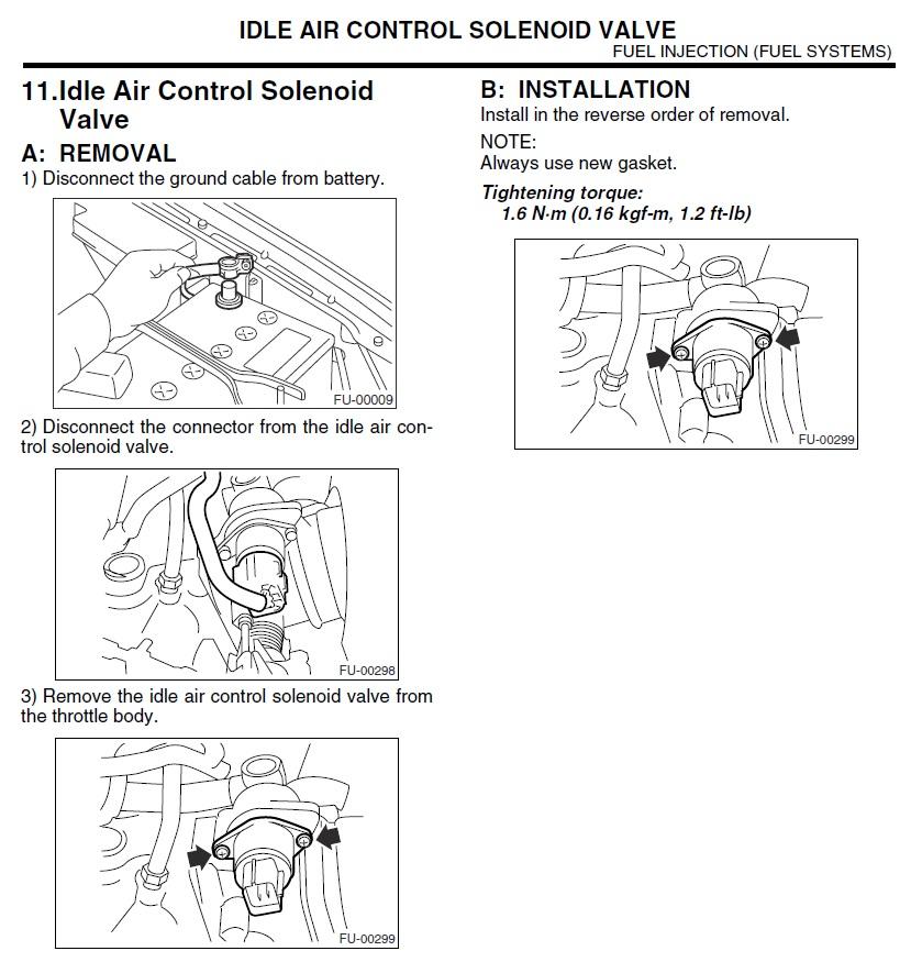 Mazda 6 Throttle Body Relearn