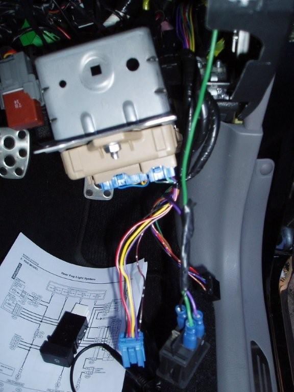 Rear Fog Light Install