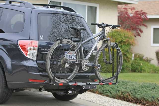 How Bad Is This Aerodynamically Rear Mounted Bike Rack On Suv