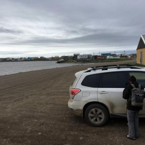 Arrival at Tuktoyaktuk, Northwest Territories, from Ohio
