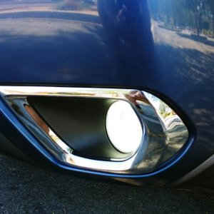 Chrome Trim piece - fog lights